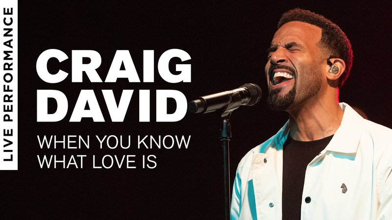 Craig David When You Know What Love Is Live Vevo
