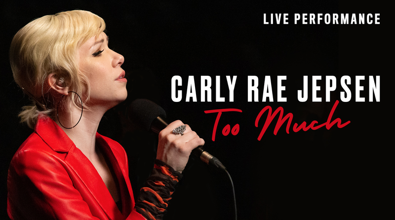 Carly Rae Jepsen Too Much Vevo Live Performance