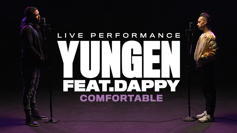 YUNGEN FT. DAPPY | STUDIO PERFORMANCE