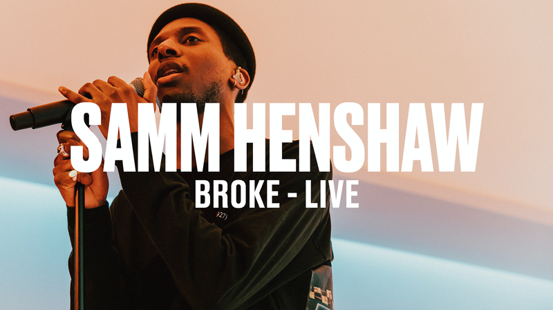 SAMM HENSHAW - CHURCH + BROKE - (LIVE) - VEVO DSCVR