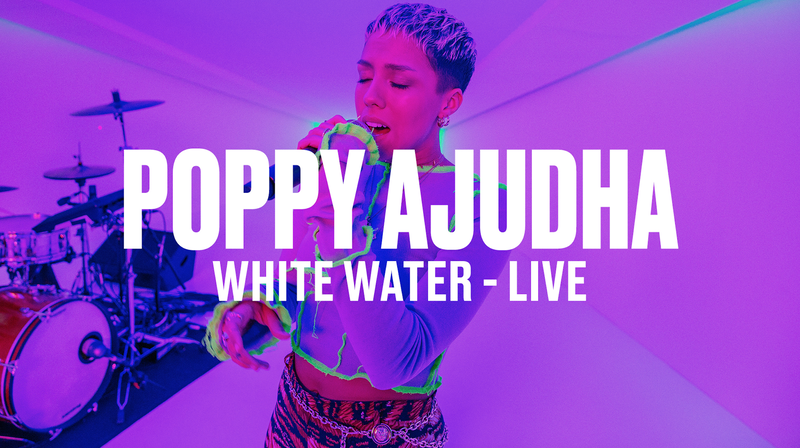 POPPY AJUDHA - THE MAN YOU AIM TO BE  + WHITE WATER (LIVE) - VEVO DSCVR