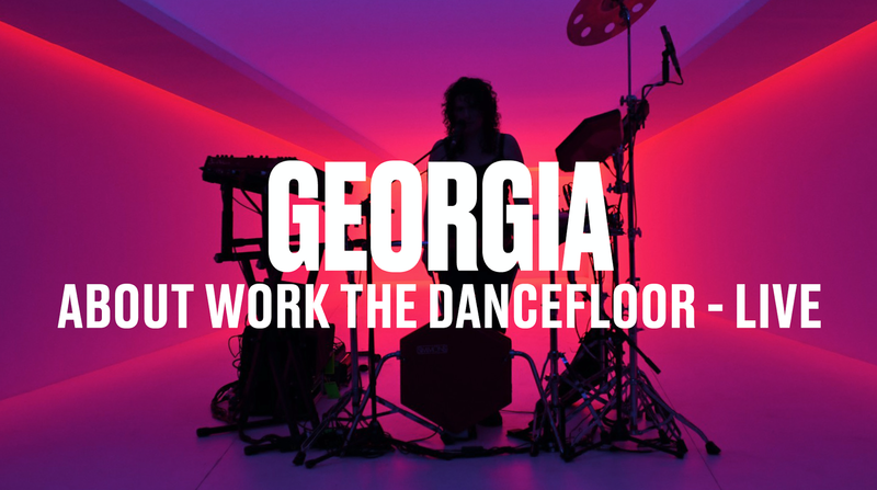GEORGIA - ABOUT WORK THE DANCEFLOOR + STARTED OUT (LIVE) - VEVO DSCVR
